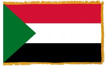 Sudan Flag Indoor Nylon