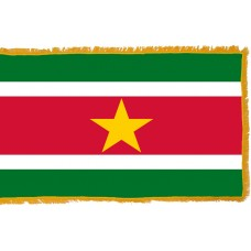 Suriname Flag Indoor Nylon
