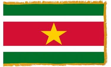 Suriname Flag Indoor Nylon