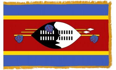 Swaziland Flag Indoor Nylon