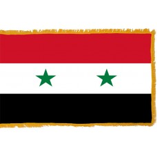 Syria Flag Indoor Nylon