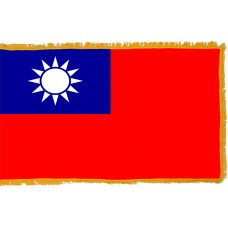 Taiwan Flag Indoor Nylon