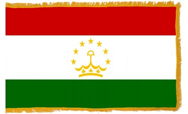 Tajikistan Flag Indoor Nylon