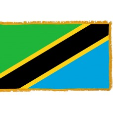 Tanzania Flag Indoor Nylon