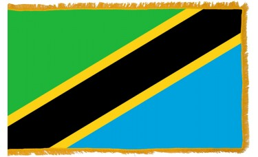Tanzania Flag Indoor Nylon