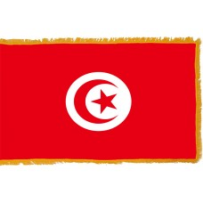 Tunisia Flag Indoor Nylon