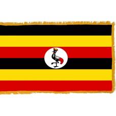 Uganda Flag Indoor Nylon