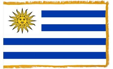 Uruguay Flag Indoor Nylon