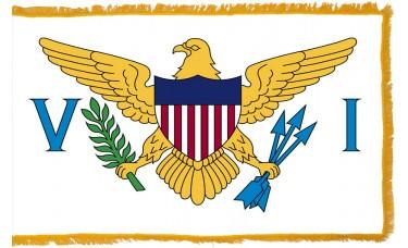 US Virgin Islands Flag Indoor Nylon