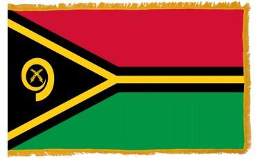 Vanuatu Flag Indoor Nylon