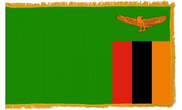 Zambia Flag Indoor Nylon