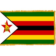 Zimbabwe Flag Indoor Nylon