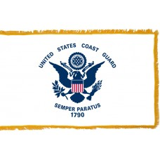 Coast Guard Flag Indoor Nylon