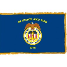 Merchant Marines Flag Indoor Nylon