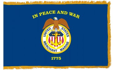 Merchant Marines Flag Indoor Nylon