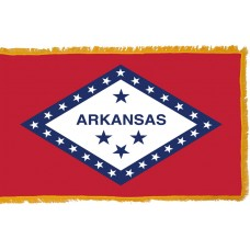 Arkansas Flag Indoor Nylon