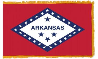 Arkansas Flag Indoor Nylon