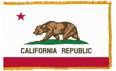 California Flag Indoor Nylon