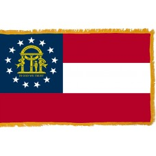 Georgia Flag Indoor Nylon