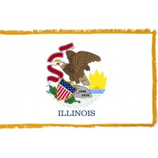 Illinois Flag Indoor Nylon