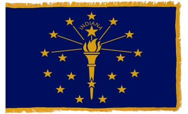 Indiana Flag Indoor Nylon