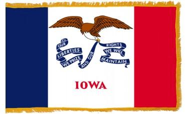 Iowa Flag Indoor Nylon