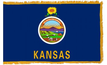 Kansas Flag Indoor Nylon