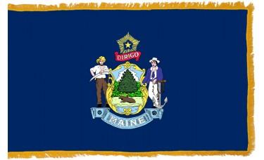 Maine Flag Indoor Nylon