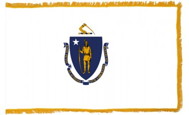 Massachusetts Flag Indoor Nylon