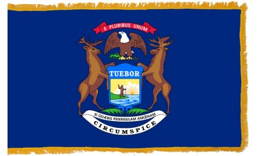 Michigan Flag Indoor Nylon