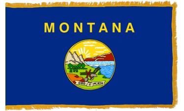 Montana Flag Indoor Nylon