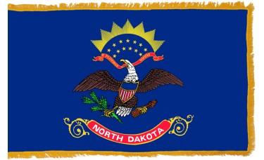 North Dakota Flag Indoor Nylon