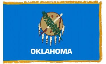 Oklahoma Flag Indoor Nylon