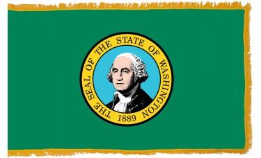 Washington Flag Indoor Nylon