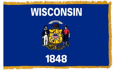 Wisconsin Flag Indoor Nylon