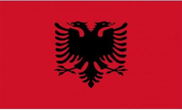 Albania Flag Outdoor Nylon
