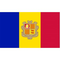 Andorra Flag Outdoor Nylon