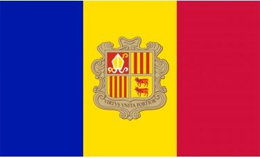 Andorra Flag Outdoor Nylon