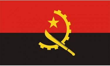 Angola Flag Outdoor Nylon