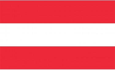 Austria Flag Outdoor Nylon