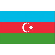 Azerbaijan Flag Outdoor Nylon