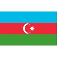 Azerbaijan Flag Outdoor Nylon