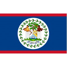 Belize Flag Outdoor Nylon