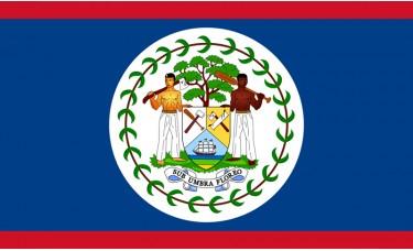 Belize Flag Outdoor Nylon