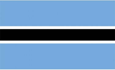 Botswana Flag Outdoor Nylon