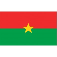 Burkina Faso Flag Outdoor Nylon