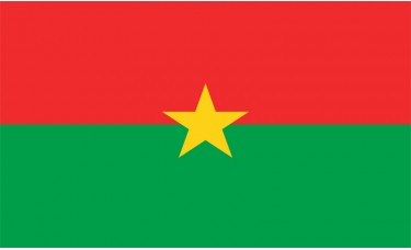 Burkina Faso Flag Outdoor Nylon