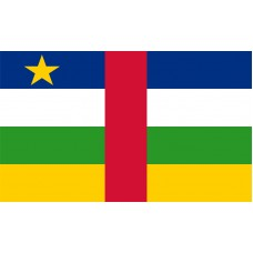 Central Africa Republic Flag Outdoor Nylon