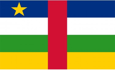 Central Africa Republic Flag Outdoor Nylon