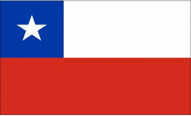 Chile Flag Outdoor Nylon